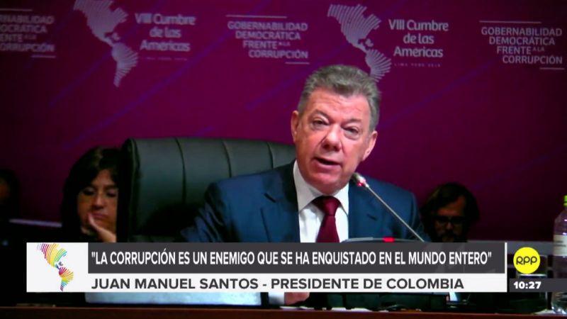 Juan Manuel Santos aseguró que Colombia no reconocerá los resultados de las elecciones en Venezuela.