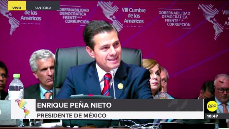 Enrique Peña Nieto enfatizó que hoy