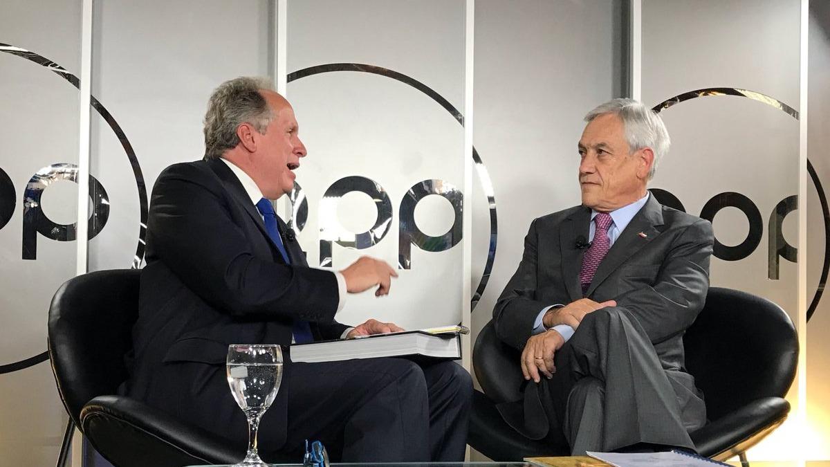 Sebastian Piñera, presidente de Chile, conversó en exclusiva con RPP Noticias.
