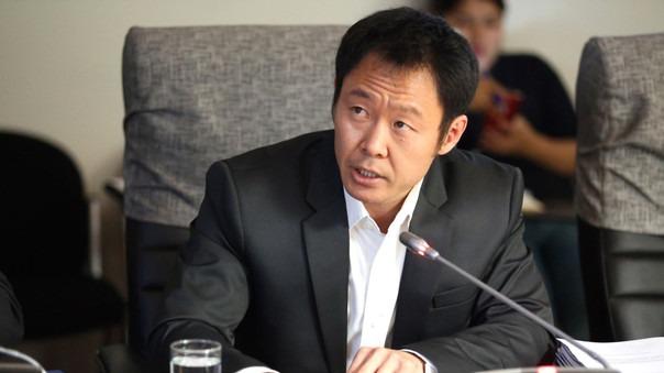 Kenji Fujimori llegó a la Fiscalía de Lavado de Activos.