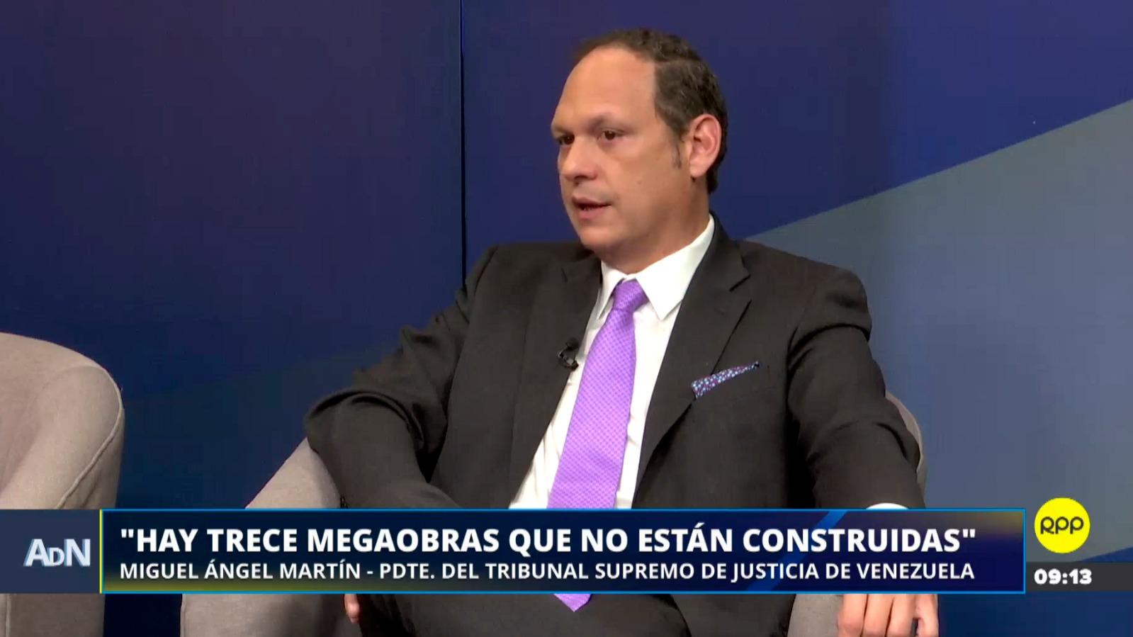 El presidente del Tribunal Supremo de Justicia de Venezuela estuvo en Ampliación de Noticias