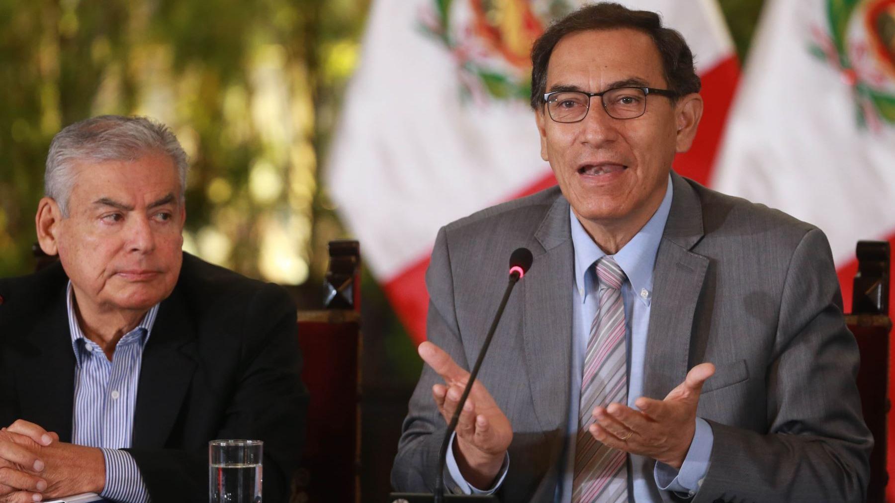 Presidente de la República, Martín Vizcarra participa del Gore Ejecutivo.