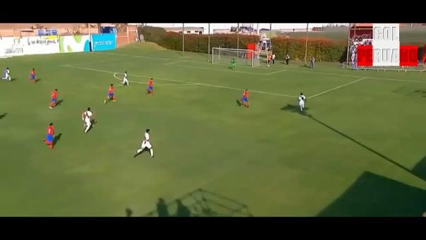 La Selección Peruana Sub 17 goleó 5-1 a Costa Rica en la Videna.