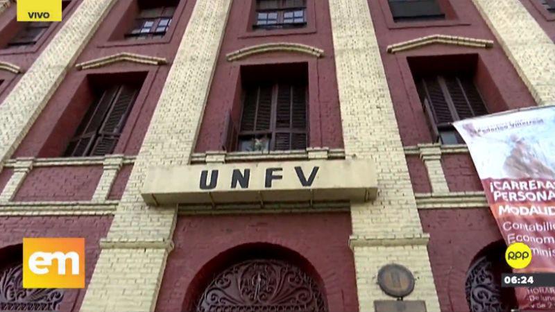 Continúa la toma de la sede central de la Universidad Nacional Federico Villarreal.