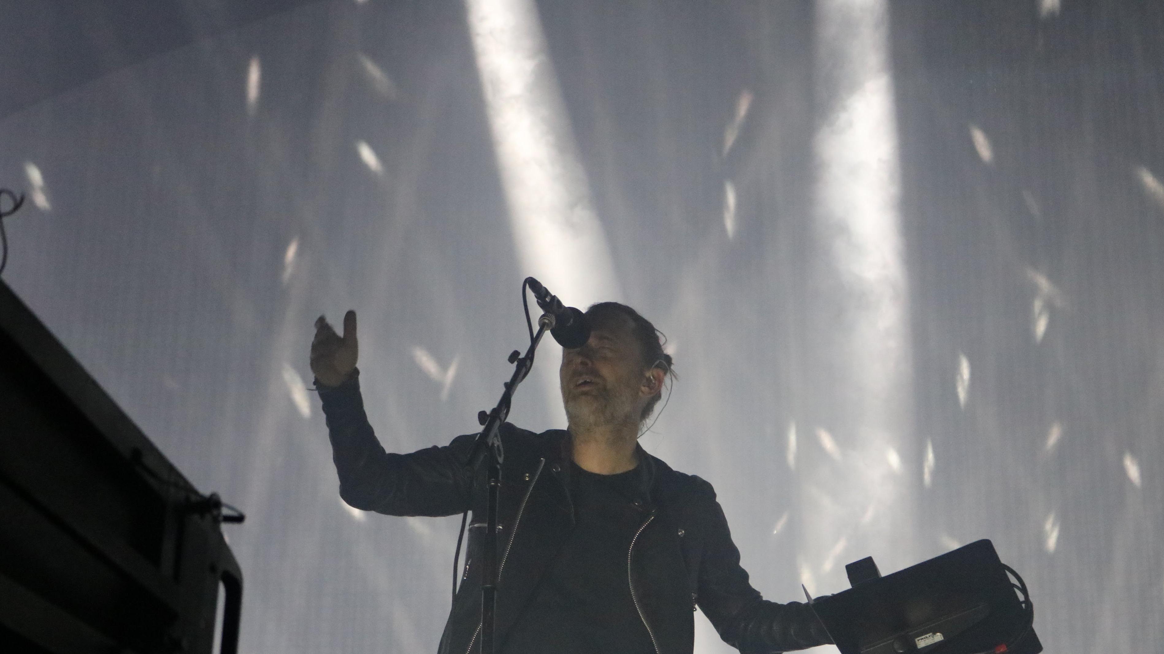 Un mágico momento se vivió cuando Radiohead interpretó