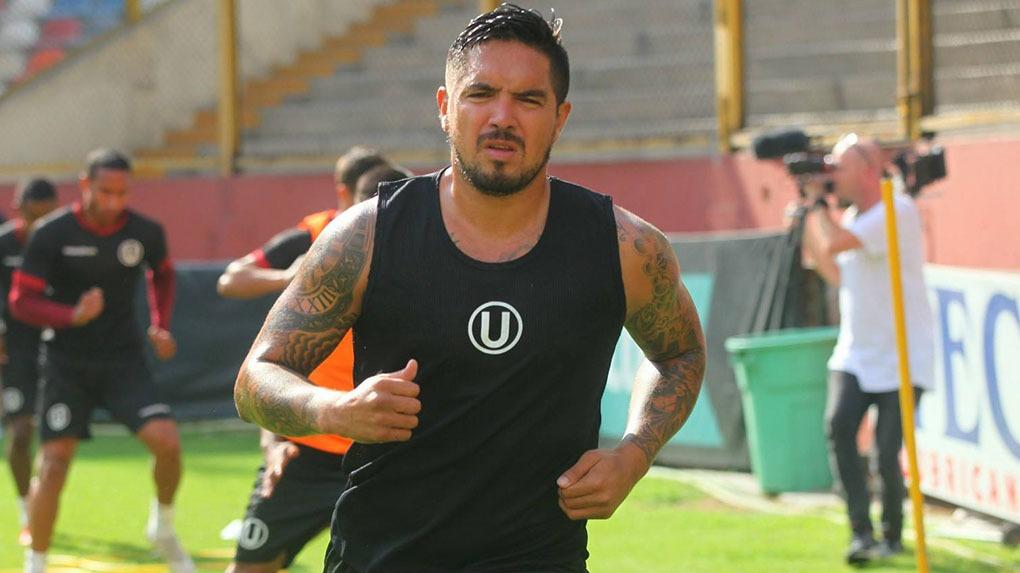 Juan Vargas debutó profesionalmente con la 'U' en el año 2002.