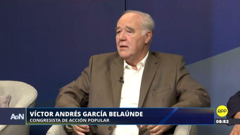 Víctor García Belaunde estuvo esta mañana en Ampliación de Noticias.