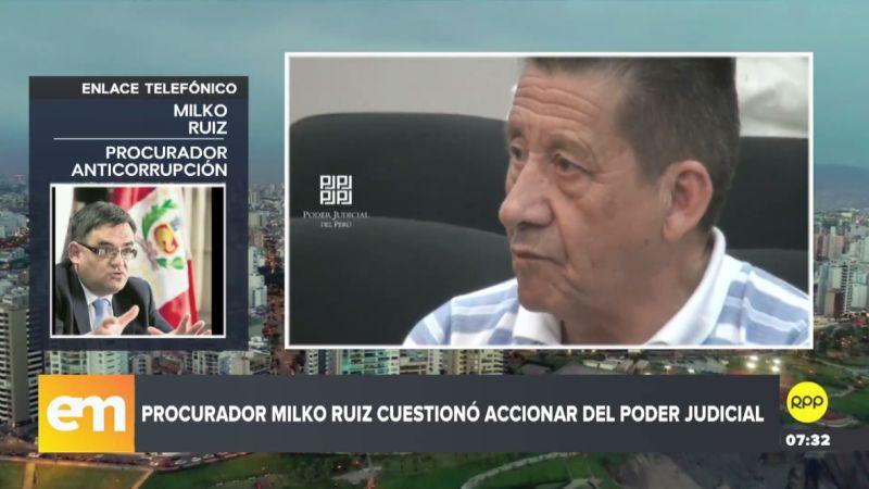 Milko Ruiz fue entrevistado esta mañana por RPP Noticias.