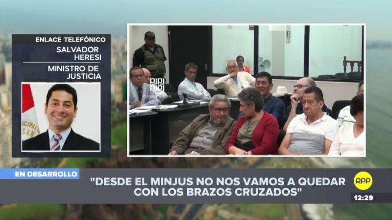Salvador Heresi expresó su indignación por el fallo que benefició a Osmán Morote.