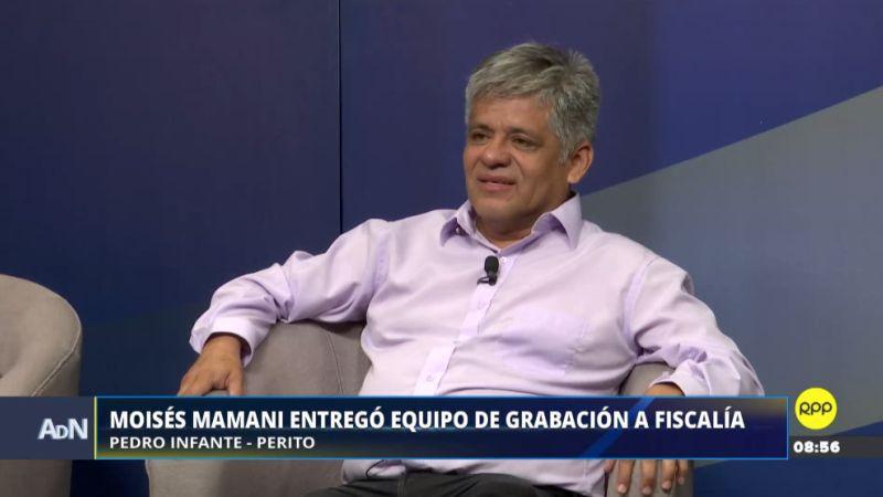 El perito de parte Pedro Infante Zapata estuvo esta mañana en Ampliación de Noticias.