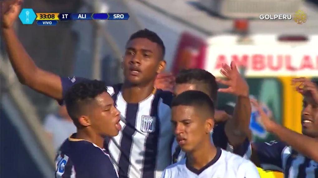Alianza Lima venció 3-1 a Sport Rosario en Matute.