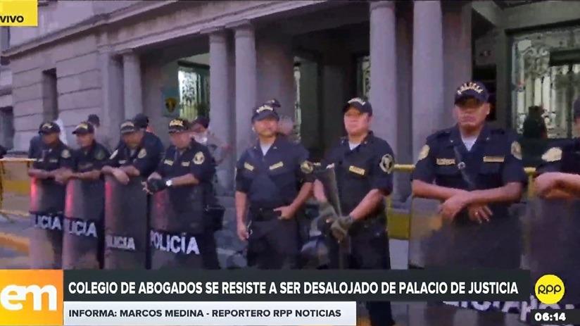 CAL se encontraba en litigio por local en el Palacio de Justicia.