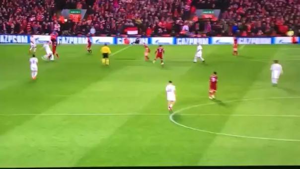 El segundo gol del Liverpool fue una gran acción de contragolpe.