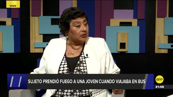 La viceministra de la Mujer, Silvia Loli, dijo que se han instalado canales virtuales de atención para quienes sufren de acoso.