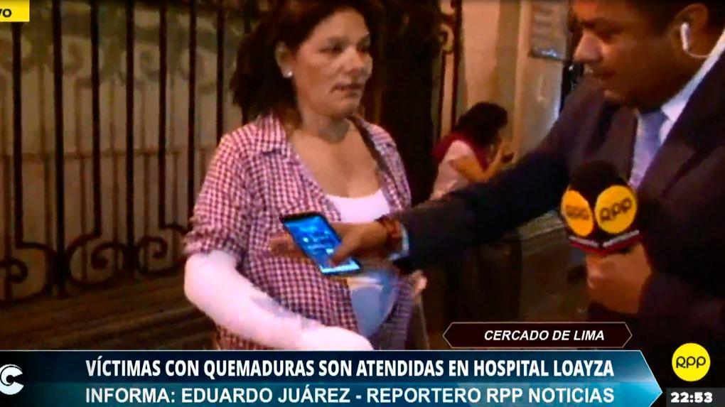 Laura Carhuaz regresaba a su casa luego de trabajar en el bus donde se produjo el ataque con fuego a una joven de 22 años.
