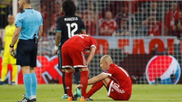 Arjen Robben militó en el Real Madrid.
