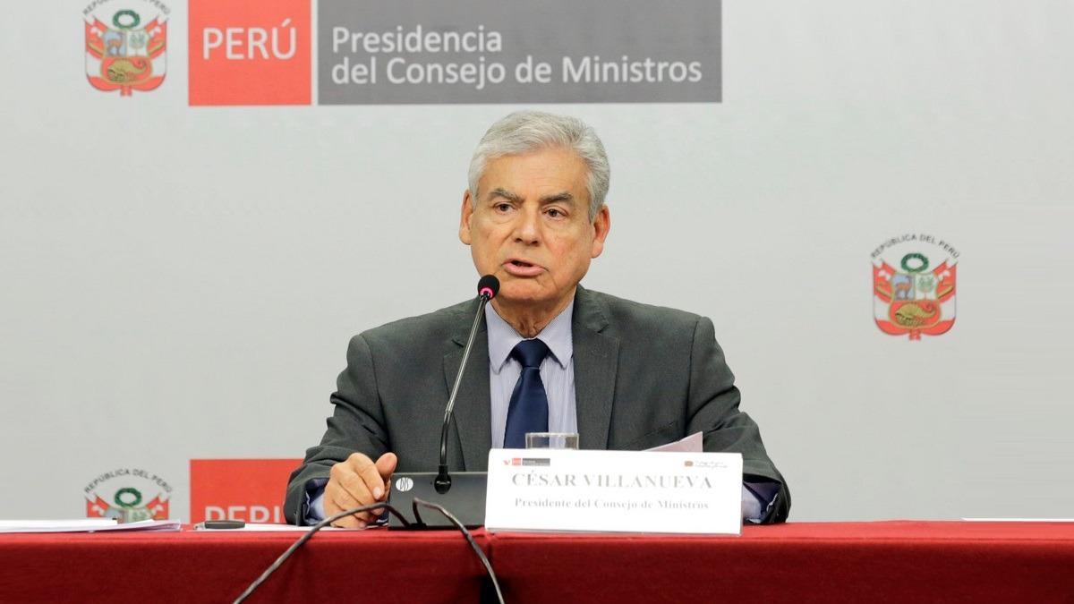 Villanueva adelantó que incorporarán medidas más drásticas de líneas políticas en este tema.