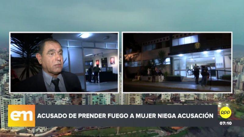 El abogado de Carlos Hualpa habló con RPP Noticias esta madrugada.