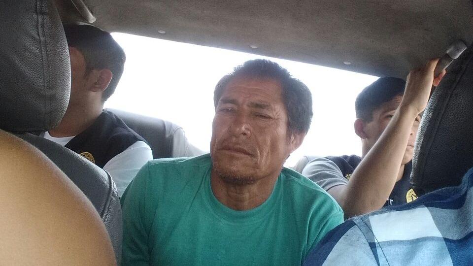 Estein Brígido Cruz Rodriguez, 52 años, acusado de asesinar a su pareja con una comba.