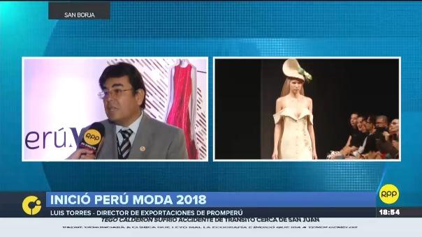Luis Torres, director de exportaciones de PromPerú conversó con RPP Noticias.