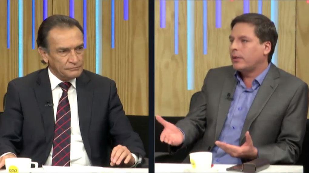 Héctor Becerril y Edmundo del Águila estuvieron en el programa '¿Quién Tiene la Razón?' en RPP.