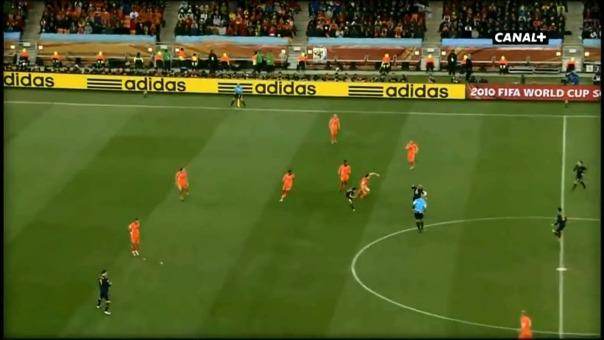 Andrés Iniesta encontró el gol del título a los 116 minutos en la final de Sudáfrica 2010.