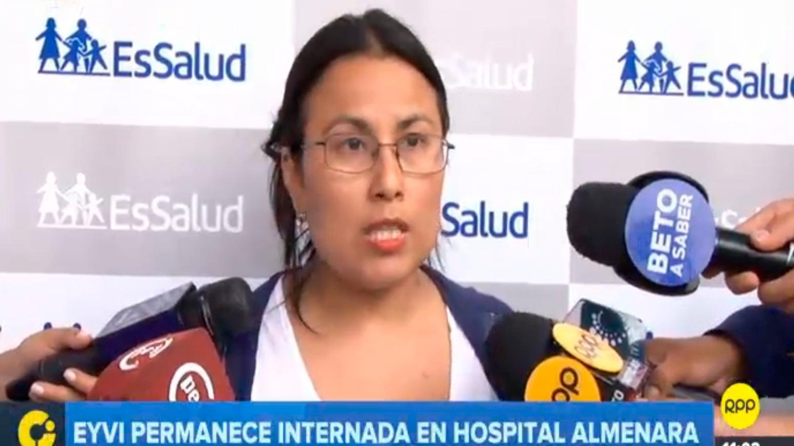 La hermana Eyvi pide que todos los pasajeros que estuvieron en el bus denuncien a Carlos Hualpa