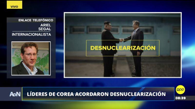 Ariel Segal analizó la cumbre entre las dos Coreas en Ampliación de Noticias.
