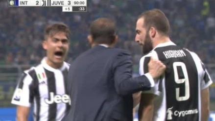 Gonzalo Higuaín no marcaba desde marzo en la liga italiana.