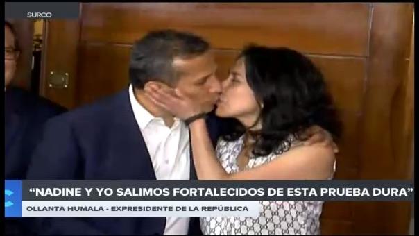 Expresidente y su esposa protagonizaron un momento que demostró su amor a pesar de estar separados por casi nueve meses.