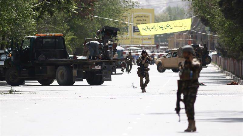 El doble atentado ocurrió en el área de Shashdarak, en el centro de Kabul.