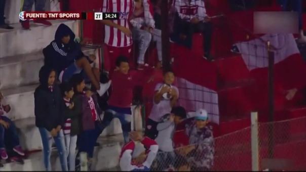 La acción de este niño llamó la atención de todos en el fútbol argentino.
