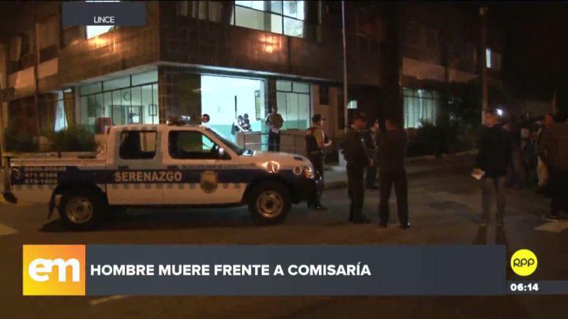 El cadáver fue trasladado a la Morgue Central de Lima para la necropsia de ley.
