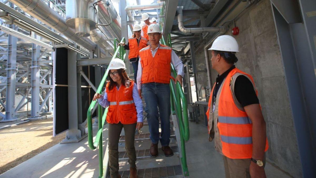Presidente inauguró la Unidad de Generación de Energía de Ciclo Combinado de la Central Térmica Santo Domingo de los Olleros en Chilca.