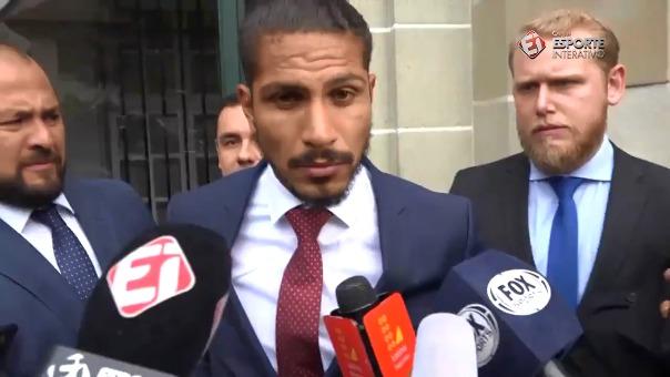 Paolo Guerrero declaró con la prensa extranjera y nacional después de dar su postura frente al TAS.