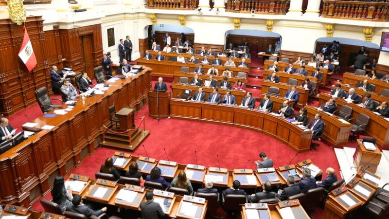 El jefe del Gabinete Ministerial culminó su discurso poco después del mediodía del miércoles 2 de mayo.