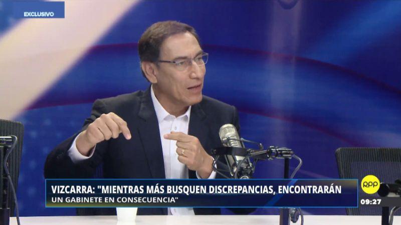 Martín Vizcarra estuvo esta mañana en Enfoque de los Sábados.