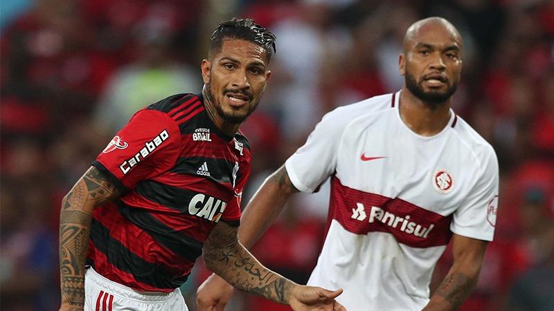 El futbolista peruano jugó 30 minutos en la victoria del Flamengo ante el Inter