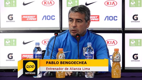 Pablo Bengoechea también descartó sumar a algún jugador en estos momentos.