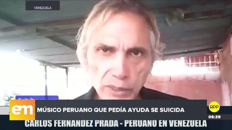 Carlos Fernández Prada había pedido ayuda económica para poder regresar al Perú.