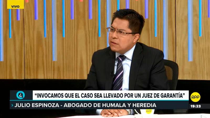 El abogado del expresidente comentó que el juez Concepción Carhuancho fue en contra de derechos fundamentales.