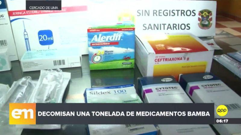 Los comerciantes opusieron resistencia a la intervención policial y se negaron a entregar los productos.