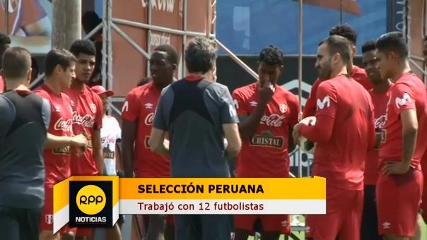 El informe completo del primer entrenamiento de Perú.