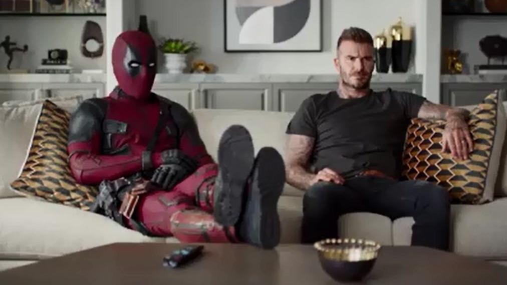 Deadpool y David Beckham protagonizan divertido video promocional de la segunda película del antihéroe.