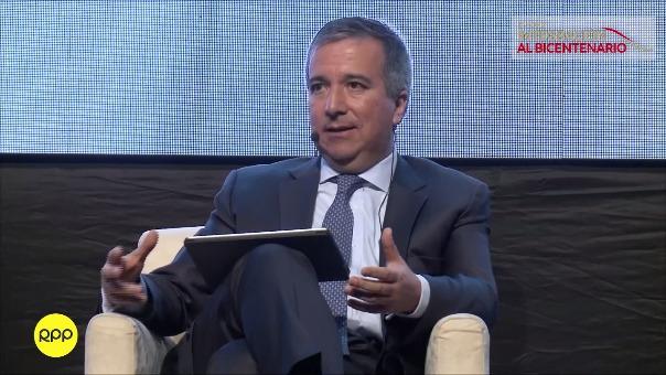 Ministro de la Producción, Raúl Pérez Reyes
