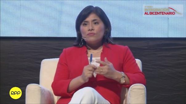 Nataly Ponce, viceministra de Seguridad Pública