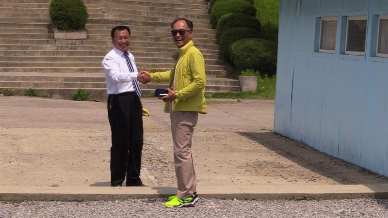 La imitación de la frontera intercoreana se ha convertido en un gran atractivo turístico.