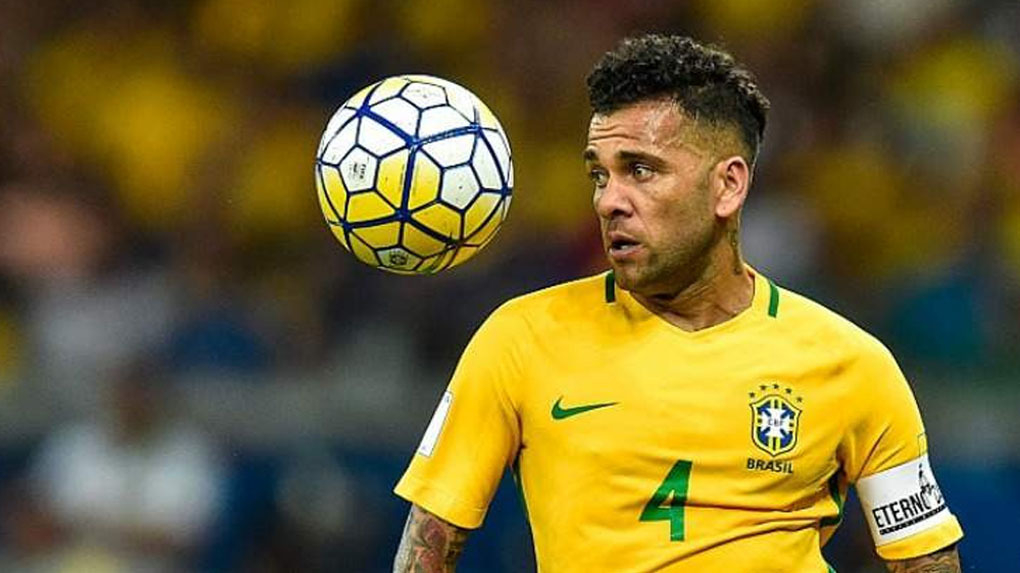 Dani Alves se perderá el Mundial de Rusia 2018 por lesión.