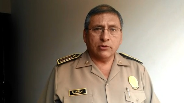 La intervención ocurrió en el cruce de las calles Víctor Sánchez Ruiz y El Carmen del distrito de Chiclayo