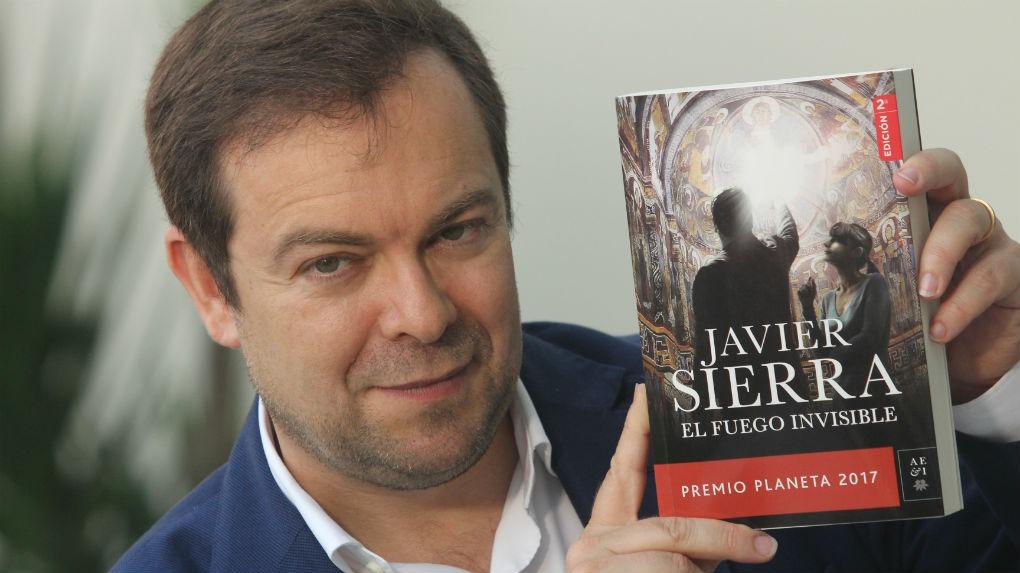 El escritor Javier Sierra habla de su interés por Perú.
